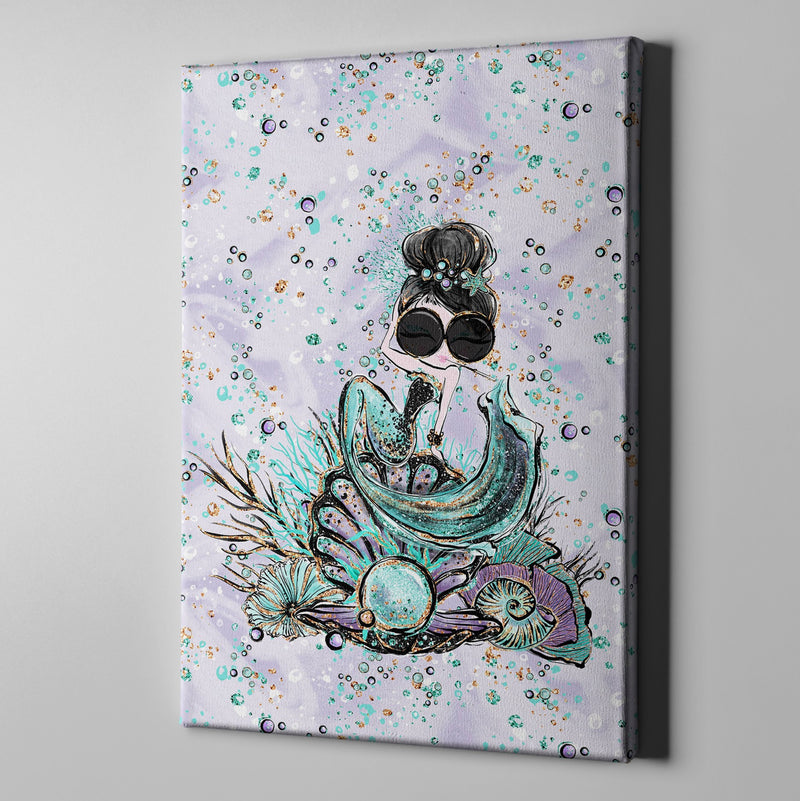 Breakfast at Tiffany Audrey Fashion Gallery Wrapped Canvas