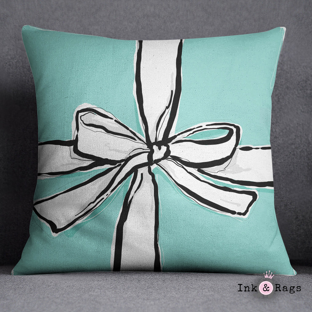 Shopping with Audrey Breakfast at Tiffany Inspired Fashion Decorative Throw Pillow Cover