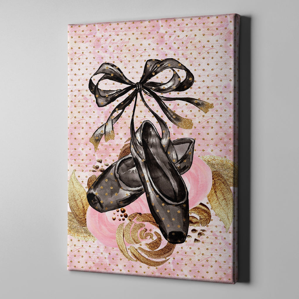 Black Swan Fashion Gallery Wrapped Canvas
