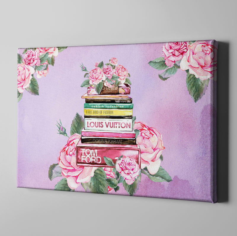 Fashion Academy Rose Gallery Wrapped Canvas