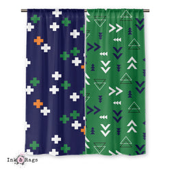 BGO Geometric Curtains