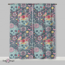 Woodland Skull Curtains