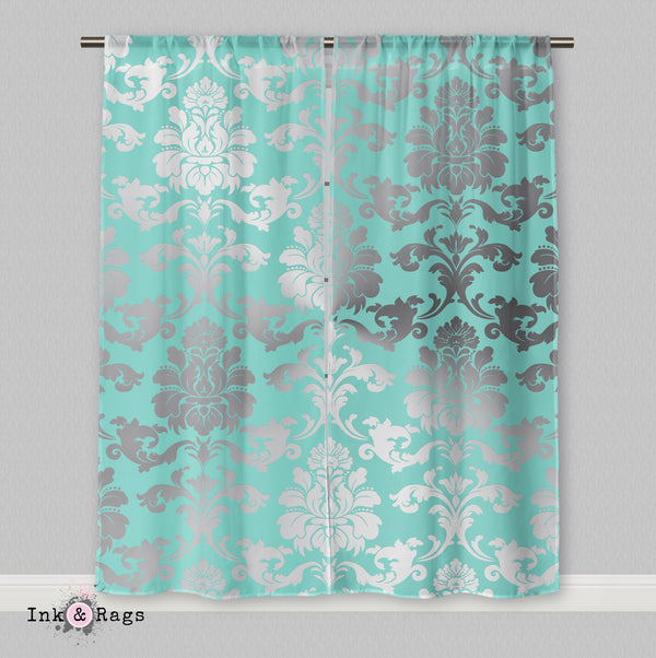 Matching Name & Co Damask Curtains