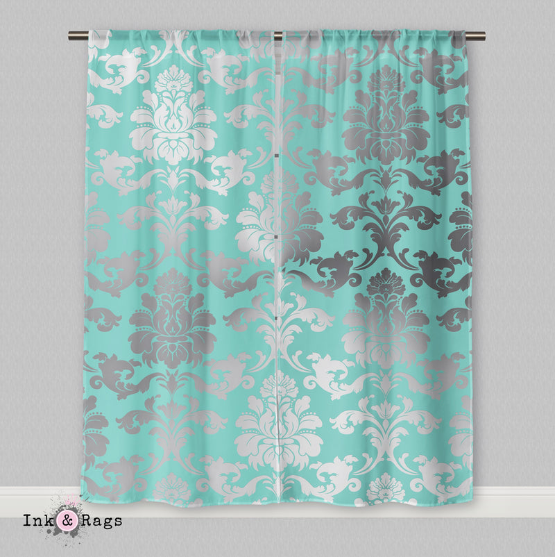 Matching Name & Co Damask Curtains or Sheers