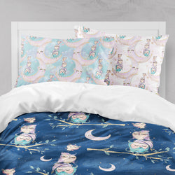 Night Owls Big Kids Bedding