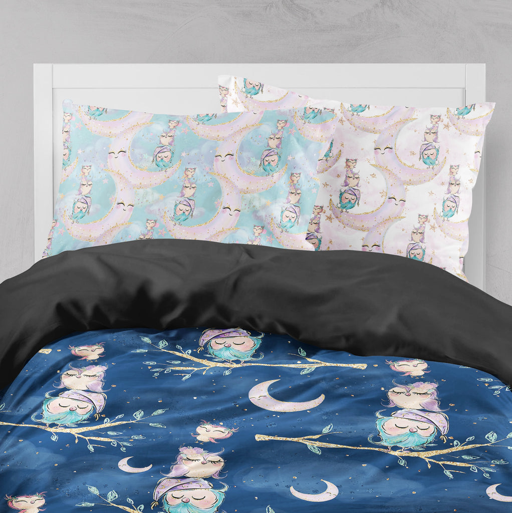 Night Owls Crib and Toddler Bedding Collection