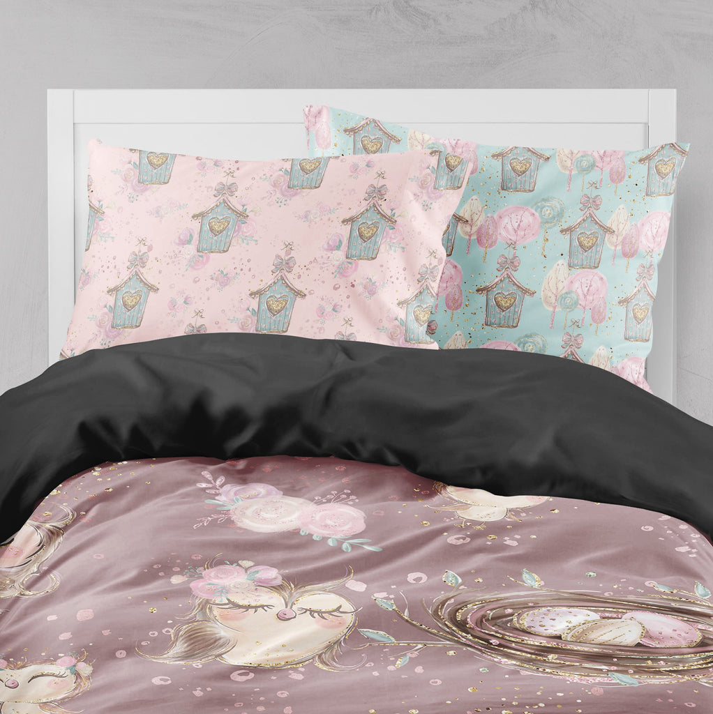 Sweet Owls Crib and Toddler Bedding Collection