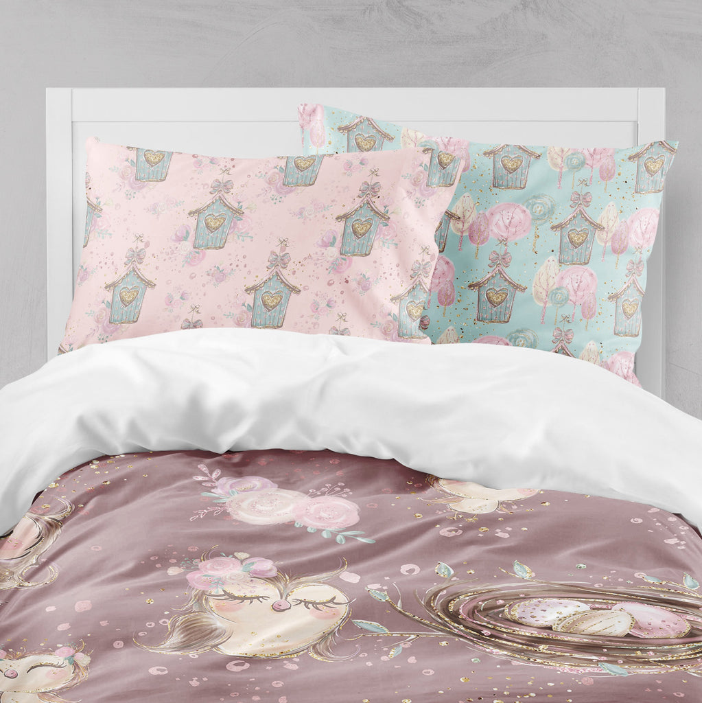 Sweet Owls Big Kids Bedding