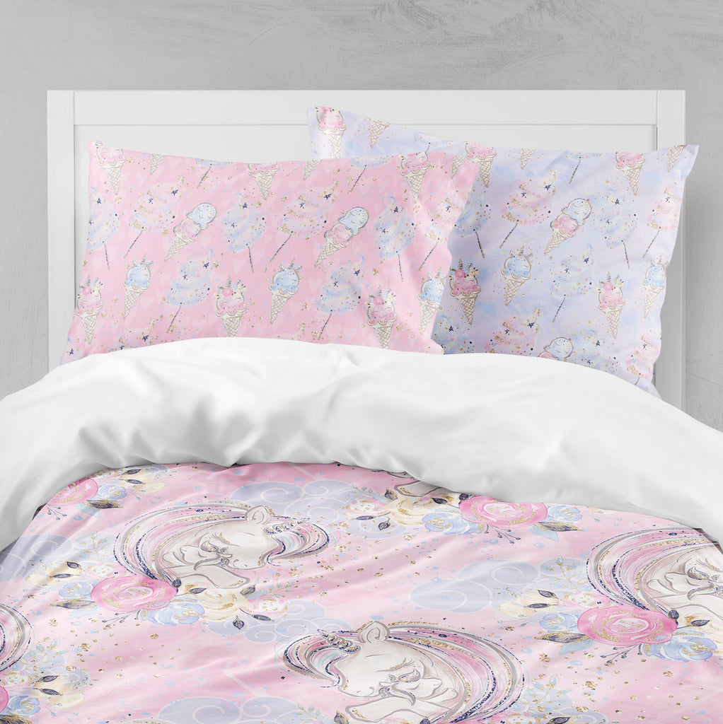 A Mothers Love Unicorn Big Kids Bedding