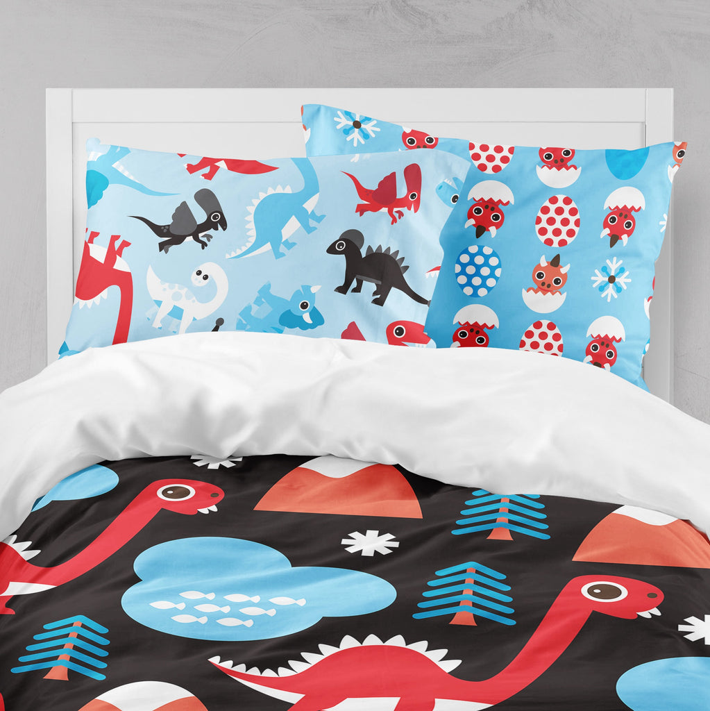 Hatchling Dino Crib and Toddler Bedding Collection