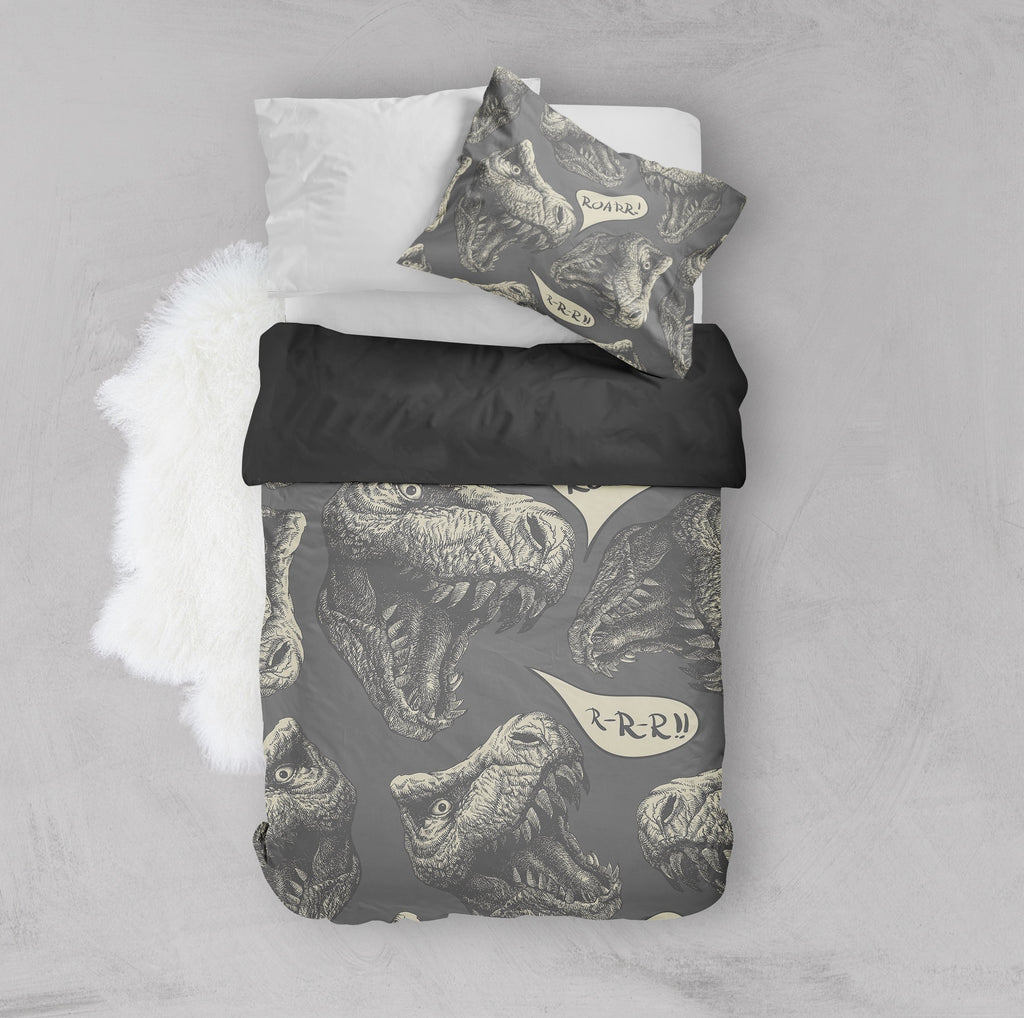 T-Rex Roarr Crib and Toddler Bedding