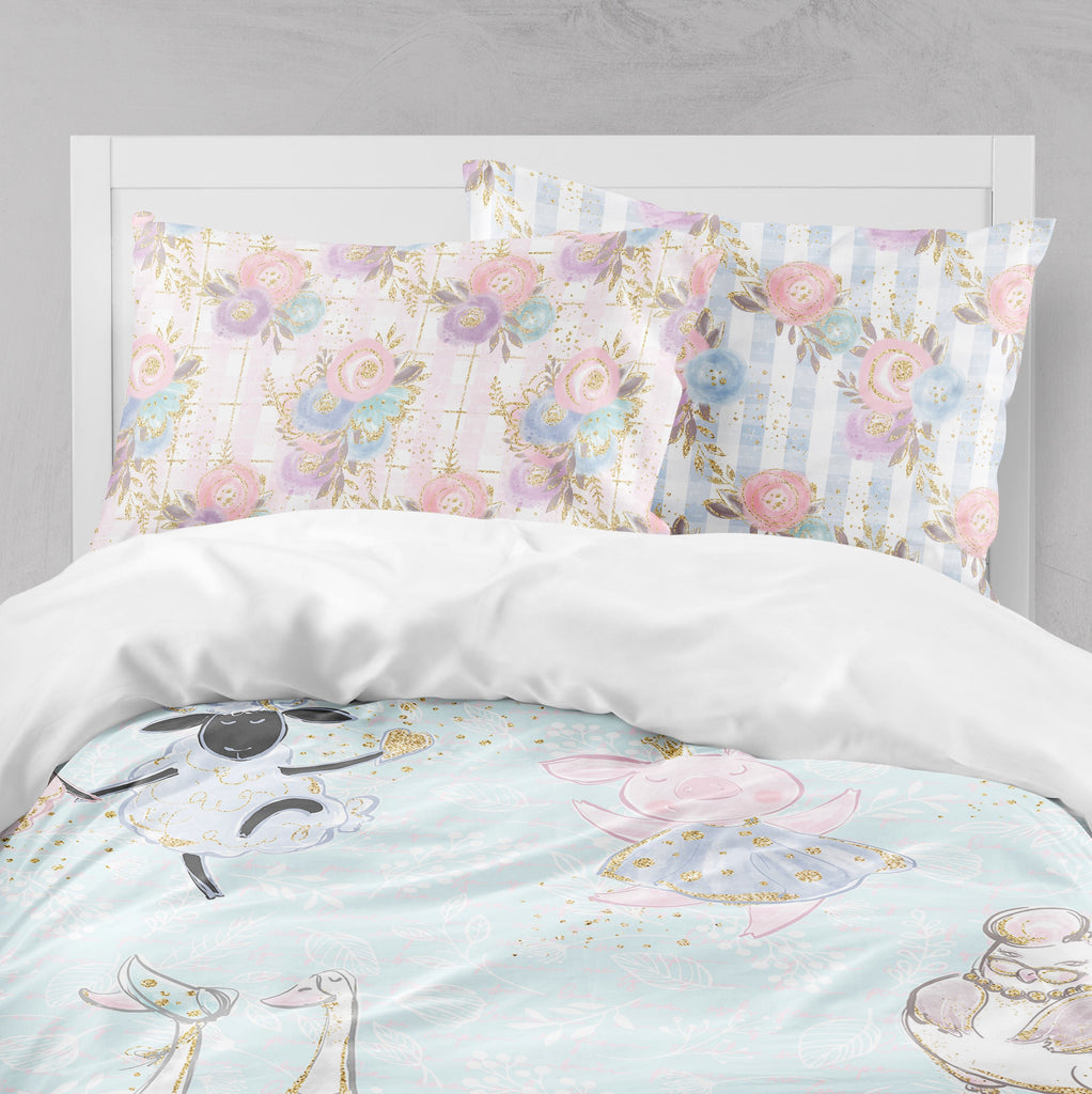 Fancy Farm Crib and Toddler Bedding Collection