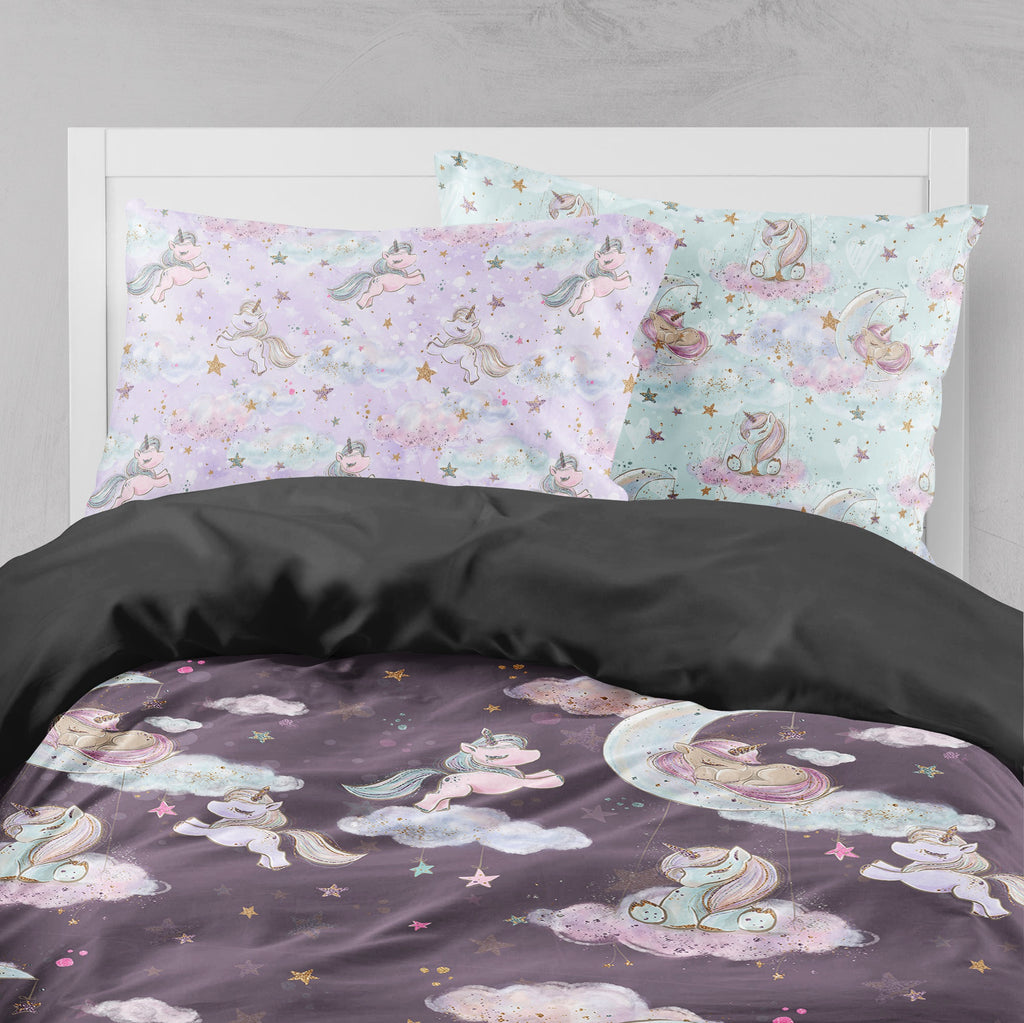 Baby Unicorn Dreams Crib and Toddler Bedding