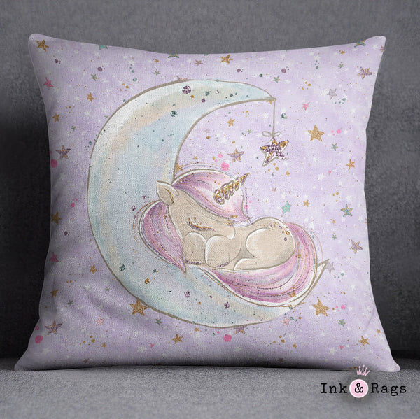 Baby Unicorn Dreams Crib and Toddler Size Comforter Sets