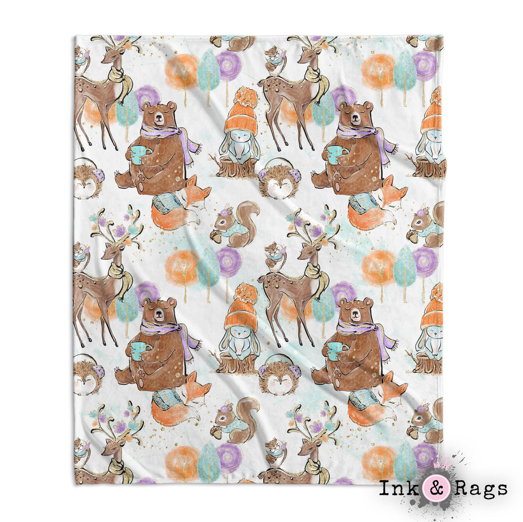 Winter Mornings Woodland Crib and Toddler Bedding Collection