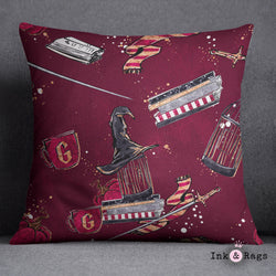 House of Gryffindor Decorative Throw Pillow