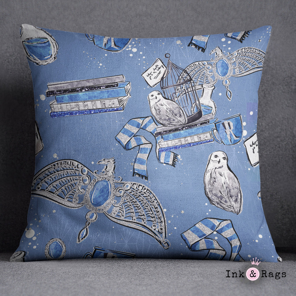 House of Ravenclaw Decorative Throw Pillow Cover