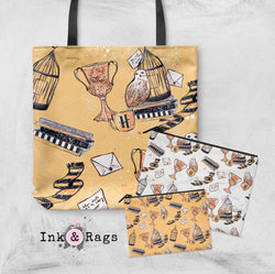 House of Hufflepuff Casual Tote OR Cosmetic Pouches
