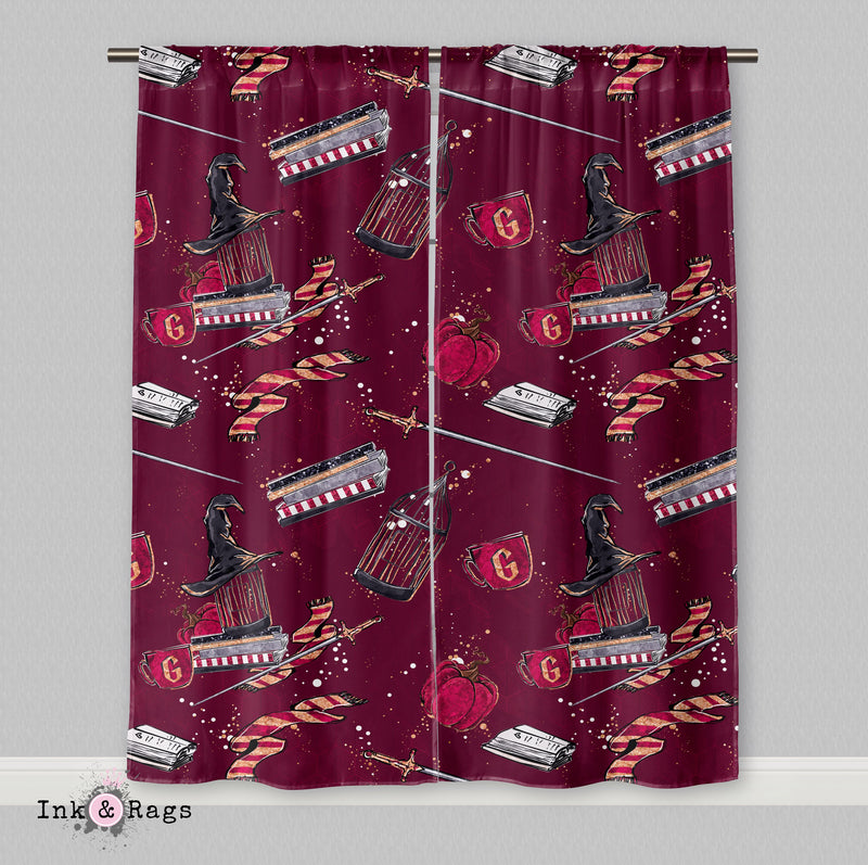 House of Gryffindor Curtains