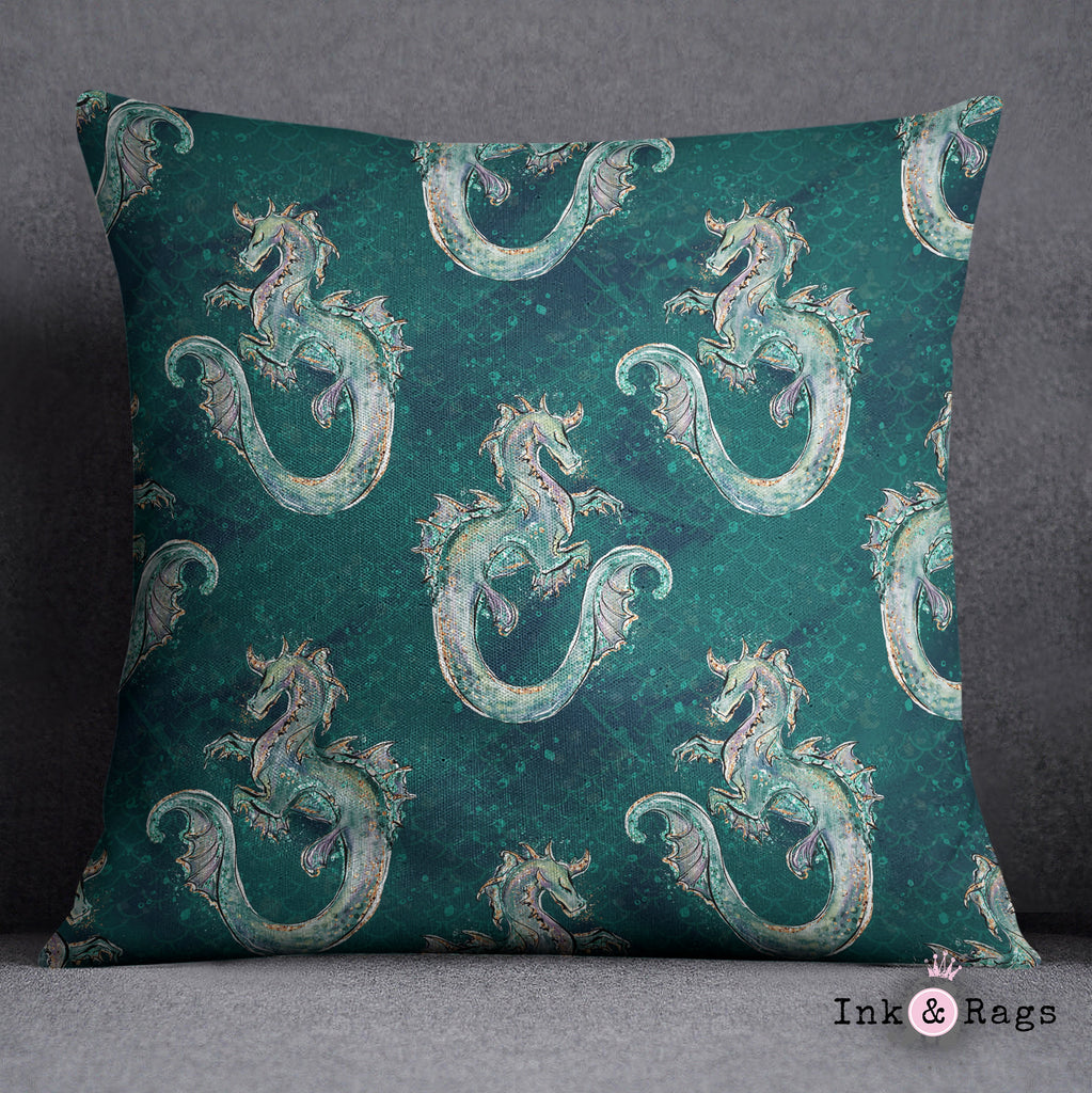 Emerald Dragon Crib and Toddler Bedding