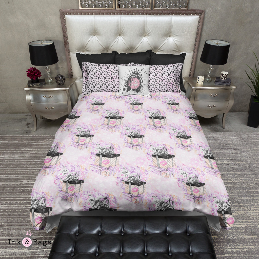 Pug Love Thank You Fashion Bedding Collection