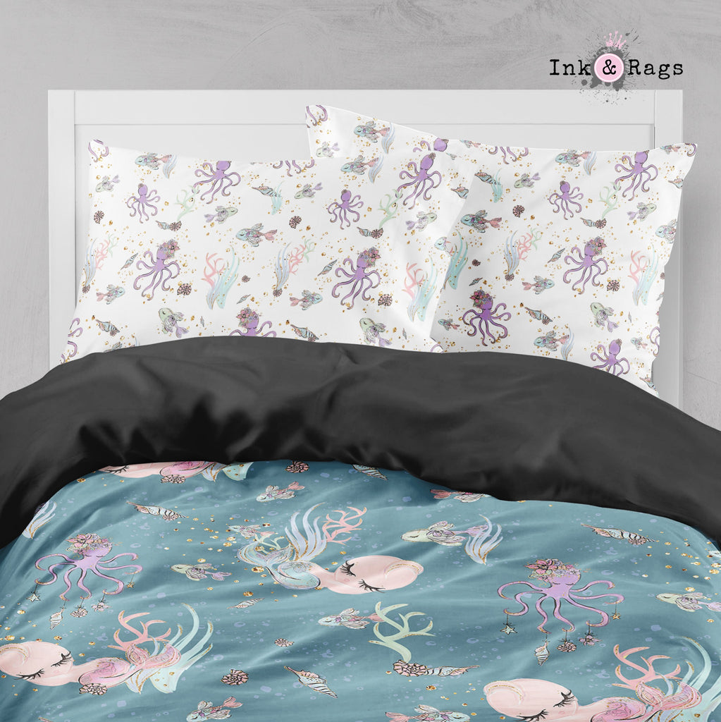 Baby Mermaid Dreams Big Kids Bedding