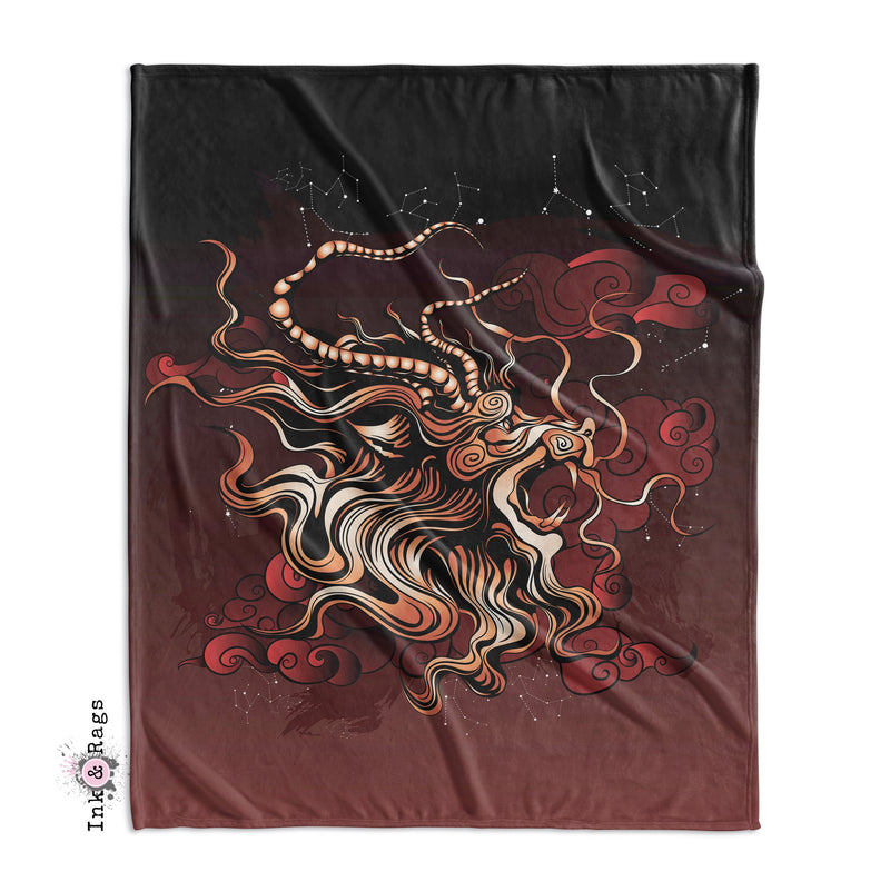 SAMPLE Mythical Dragon King Duvet Cover Set - 6 Piece Set