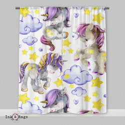 Starlight Unicorn Babies Light Curtains