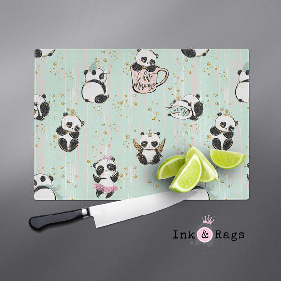 ADULT Not a Morning Panda Cutting Boards