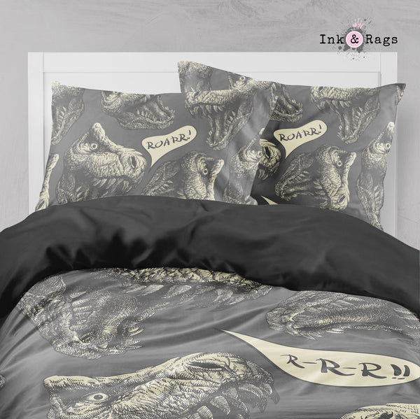 T-Rex Roarr Dinosaur Big Kids Bedding