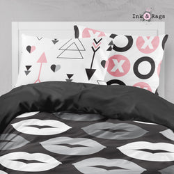 Modern Kiss Arrow OXO Big Kids Bedding