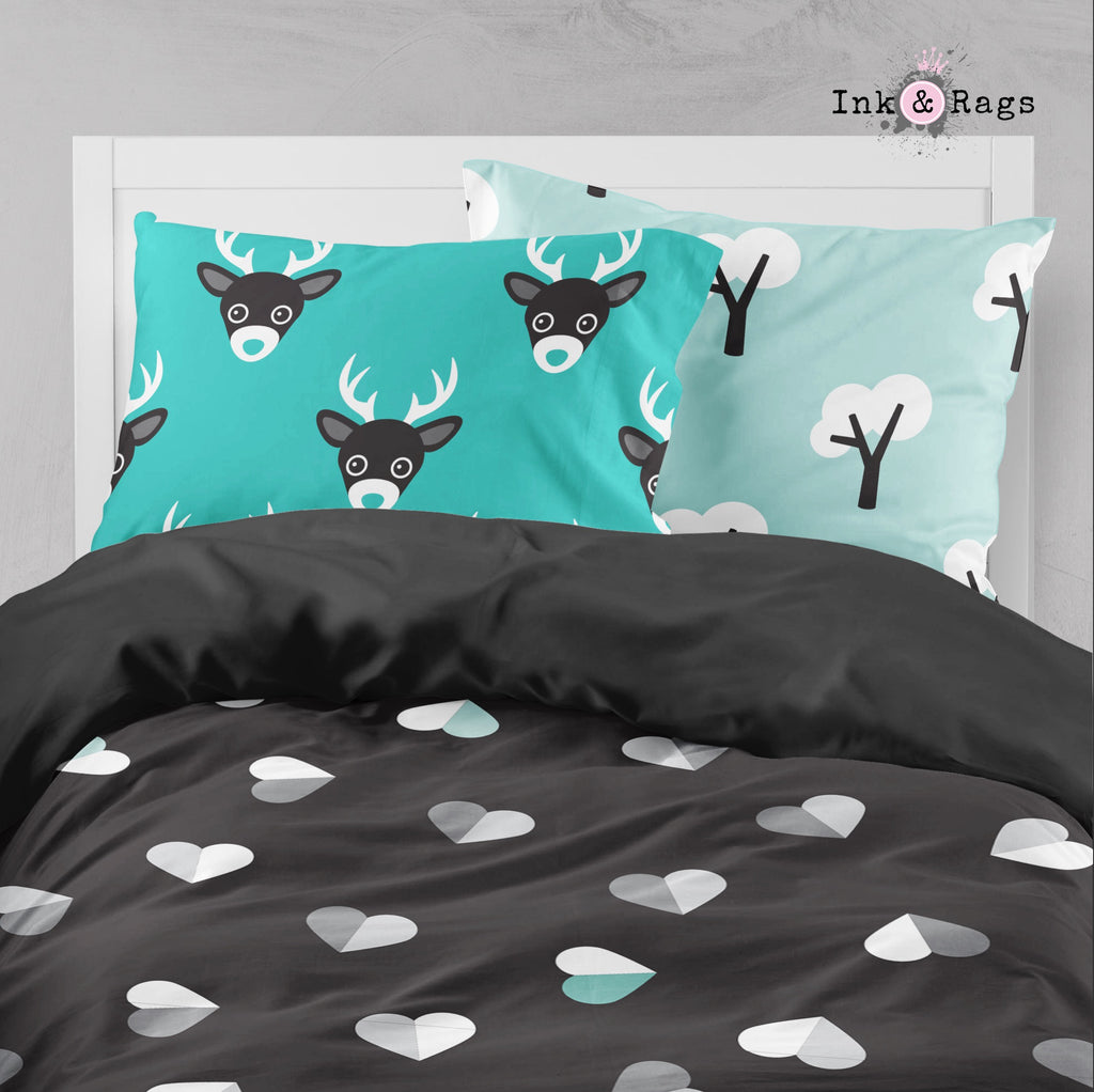 Well Hello Deer Heart Bedding