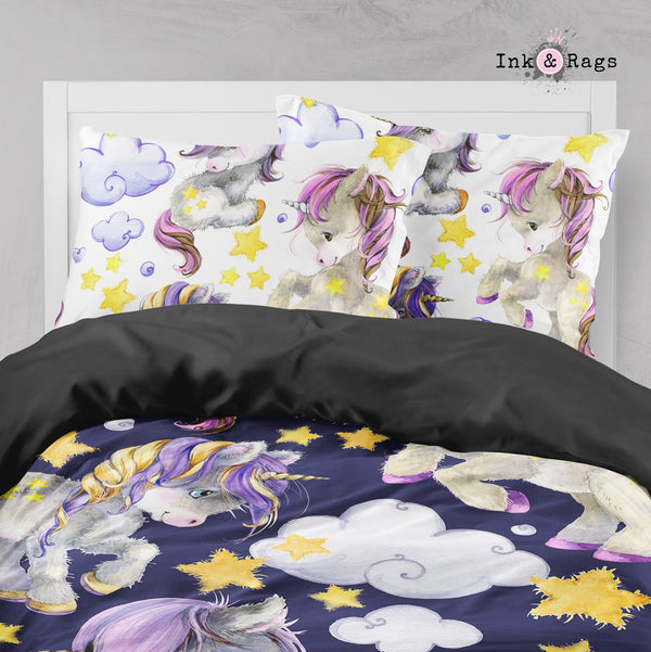 Starlight Unicorn Babies Big Kids Bedding