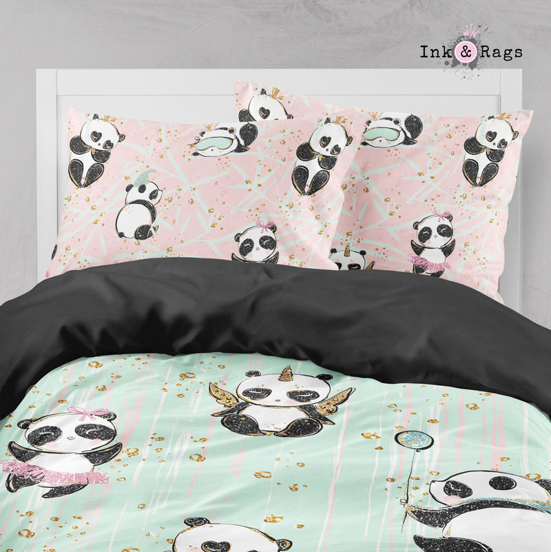 Morning Panda Big Kids Bedding