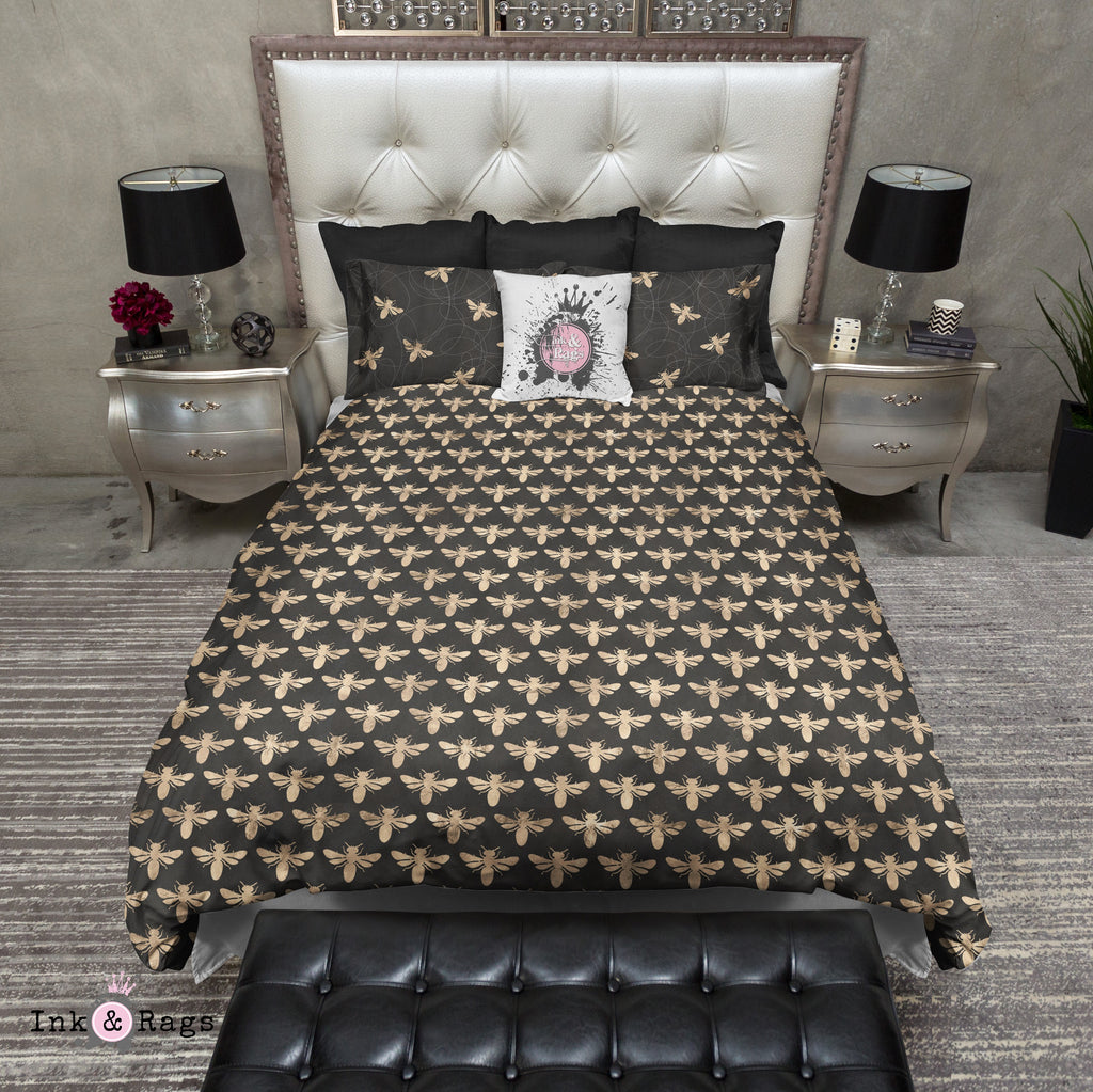 Busy Bee Honeycomb Bedding Collection