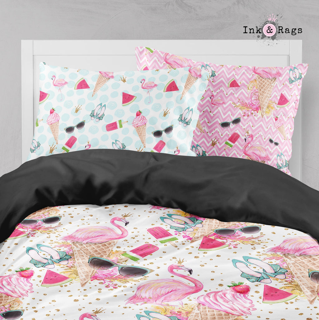 Flamingo Summer Big Kids Bedding