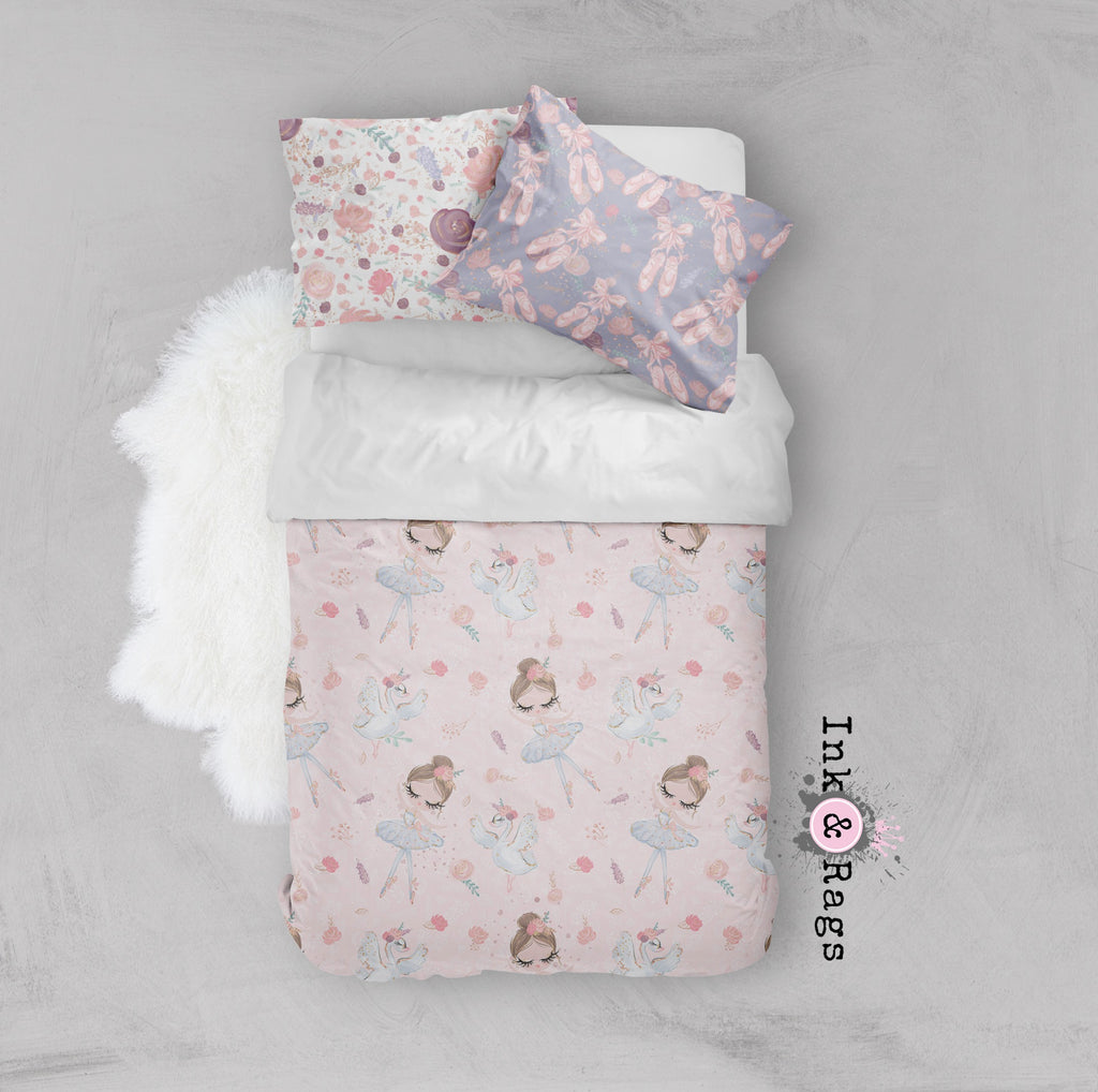 Ballerina Ballet Friends Crib and Toddler Bedding