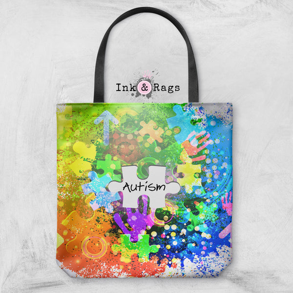 Neon Autism Awareness Casual Bag