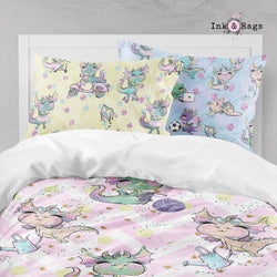 Sassy Dragons Big Kids Bedding