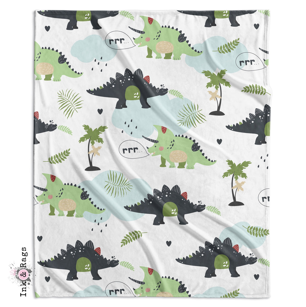 Wild Friends Dinosaur Crib and Toddler Bedding Collection