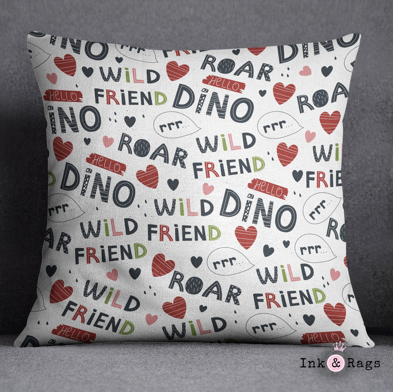 Wild Friends Dinosaur Crib and Toddler Size Comforter Sets