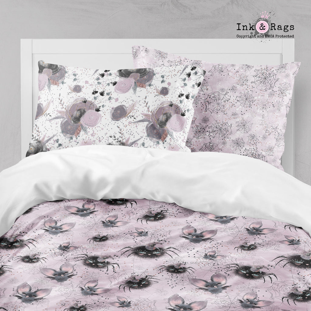 Little Bat and Spider Friends Crib and Toddler Bedding Collection