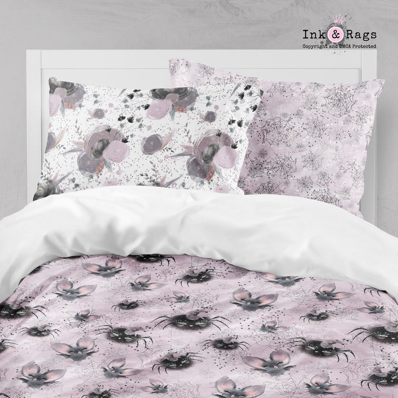 Little Bat and Spider Friends Crib and Toddler Size Comforter Sets