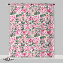 Fashion Academy Rose Curtains or Sheers