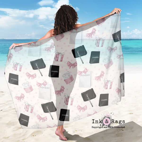 Shopping Spree Fashion Scarf, Sarong, Shawl