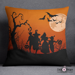 SAMPLE 26 x 26 Halloween Pillow - Trick or Treat
