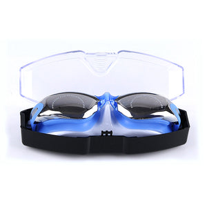 HGLTECH Plating swimming goggles Glasses adult women/man