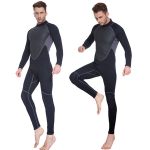 Diving suit One-Piece Wetsuit Neoprene Man for Swimming Surfing Snorkeling