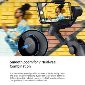 Funsnap Capture2 3-Axis Handheld Gimbal Stabilizer For Smartphone |Gopro Camera Action