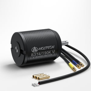 BLDC Belt Motor 6374 190KV 3250W for Electric Skateboard